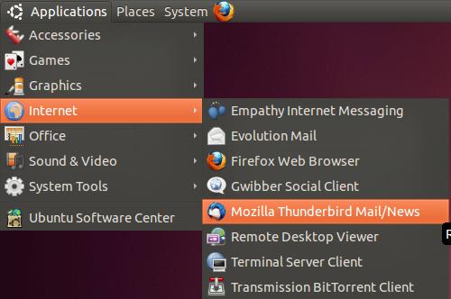 Mozilla Thunderbird on Linux Configuration