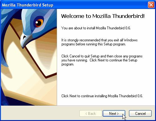 Mozilla thunderbird download.